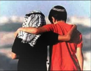 ARAB AND ISRAELI FRIENDS RELIGIOUS MYTHS BELONG TO HISTORY!